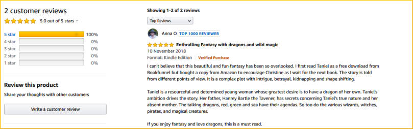 Screenshot_2019-08-11 Taniel A Corrangorachian Fantasy (The Taverner's Daughter Book 1) eBook Christine J Randall Amazon co[...]